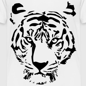white tiger T-Shirts - Teenager Premium T-Shirt