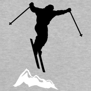downhill ski mountain Shirts - Baby T-Shirt