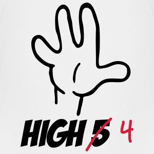 high five :-) T-shirts - Premium-T-shirt tonåring