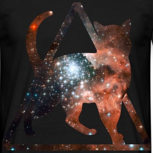 space pussy T-shirts - Herre-T-shirt