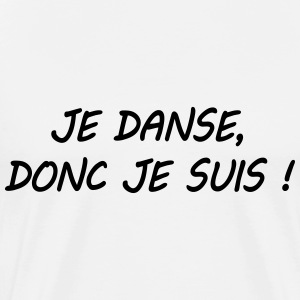Citation danse Tee shirts - T-shirt Premium Homme