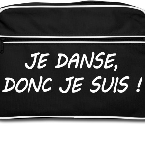 Citation danse Bags & Backpacks - Retro Bag