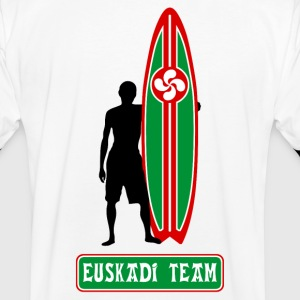 basque surfing team 05 Tee shirts - T-shirt contraste Homme