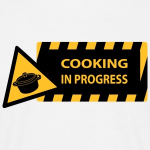 cooking in progress Camisetas - Camiseta hombre