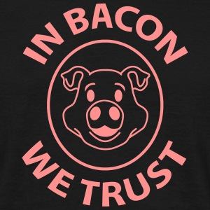 bacon trust T-skjorter - T-skjorte for menn