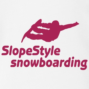 slopestyle snowboarding i Tee shirts - Body bébé bio manches courtes