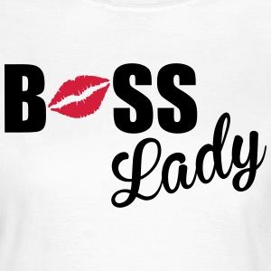 Boss Lady T-shirts - Dame-T-shirt