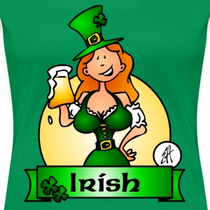 St. Patrick's Day Irish Maiden T-Shirts - Frauen Premium T-Shirt