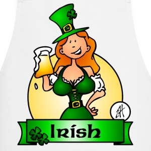 St. Patrick's Day Irish Maiden Kookschorten - Keukenschort