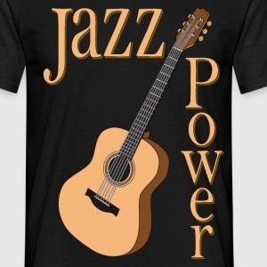 jazz power 01 T-Shirts - Men's T-Shirt