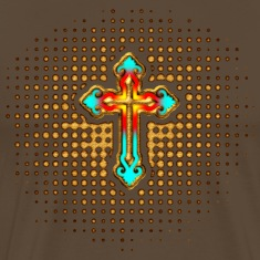 Cross Christ Church Jesus God Religious Belief T-Shirts