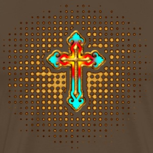 Cross Christ Church Jesus God Religious Belief T-Shirts - Men's Premium T-Shirt