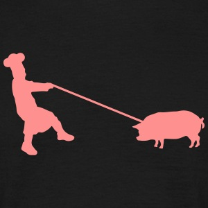 Catch the pig T-skjorter - T-skjorte for menn