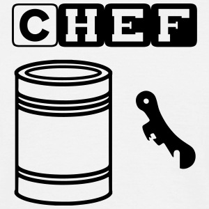 tin can chef T-shirts - T-shirt herr