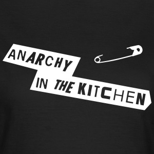 Anarchy In The Kitchen Camisetas - Camiseta mujer