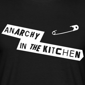 Anarchy In The Kitchen T-skjorter - T-skjorte for menn