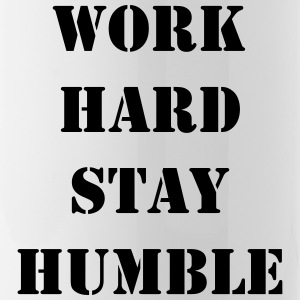 Work hard stay humble - Water Bottle