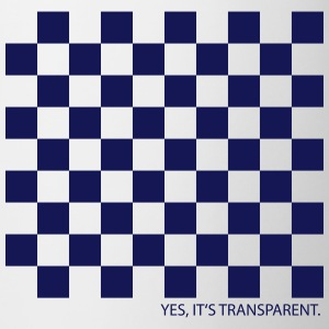 Yes, its transparent! - Tasse