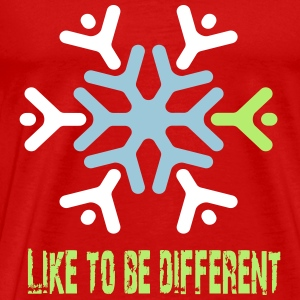 Like to be different Magliette - Maglietta Premium da uomo