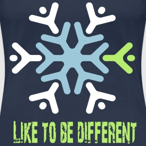 Like to be different Tee shirts - T-shirt Premium Femme