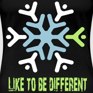 Like to be different T-shirts - Vrouwen Premium T-shirt