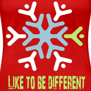 Like to be different Camisetas - Camiseta premium mujer