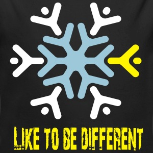Like to be different Pullover & Hoodies - Baby Bio-Langarm-Body