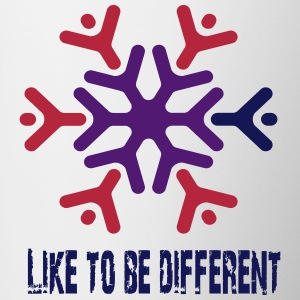 Like to be different Bouteilles et tasses - Tasse bicolore