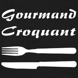 Gourmand Croquant - T-shirt Homme
