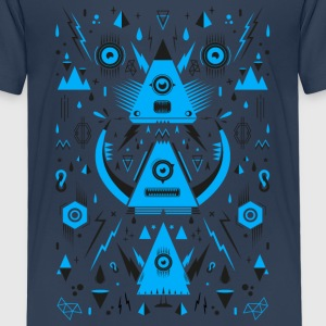 Abstract Triangle Transformation Tee shirts - T-shirt Premium Enfant