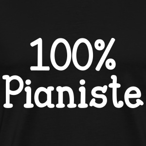 100% Pianiste Tee shirts - T-shirt Premium Homme