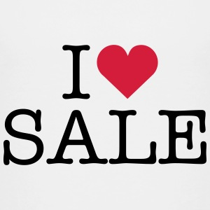 i love shopping sale sales shop fashion clothes Shirts - Teenage Premium T-Shirt