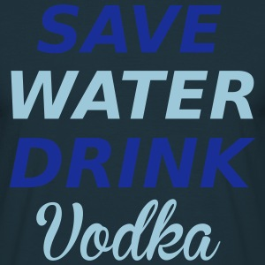 Vodka T-shirts - Herre-T-shirt