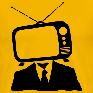 TV head  T-Shirts - Men's Premium T-Shirt