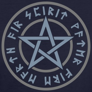 Pentagram elements magical runes star symbol pagan T-Shirts - Women's Organic T-shirt