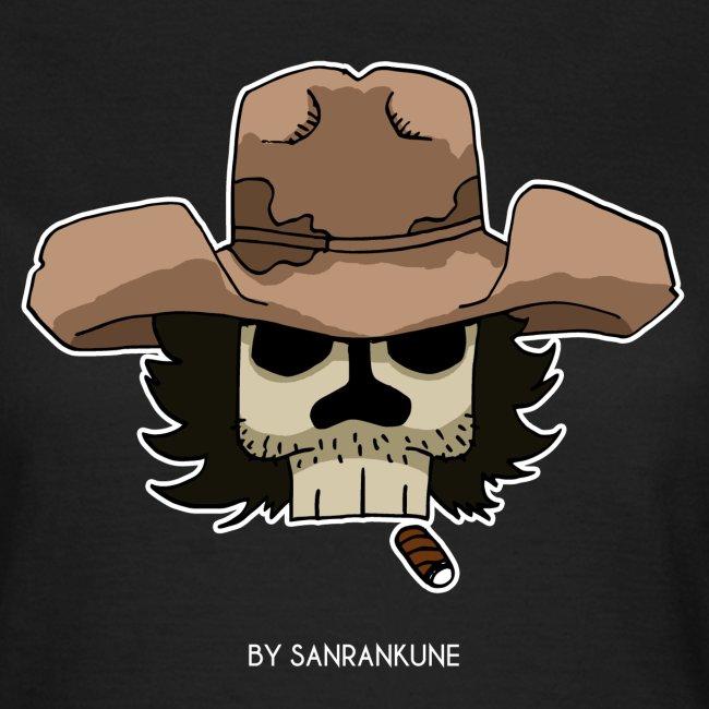 T-shirt femme Dead cowboy