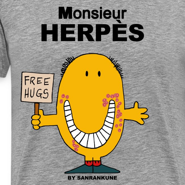 T-shirt Monsieur Herpes
