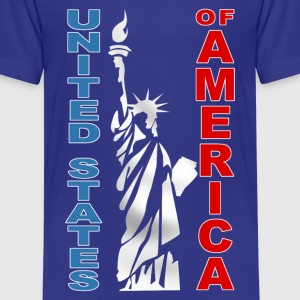 united states 09 Shirts - Teenage Premium T-Shirt