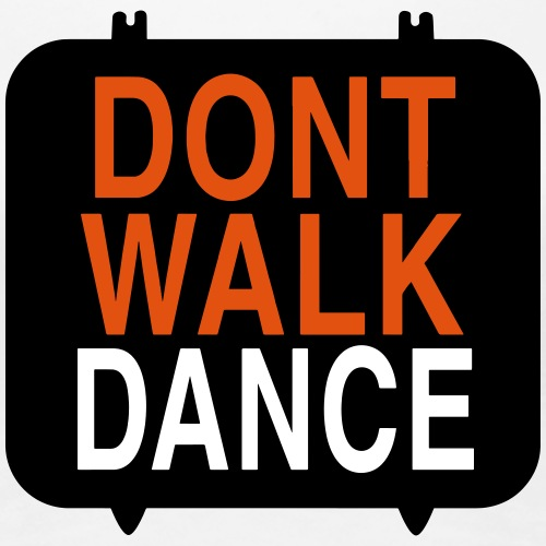 dont walk dance-vectoriel