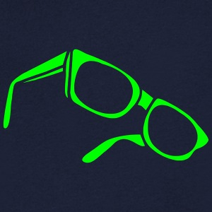 sunglasses dark glasses eighties porn cool sexy Tee shirts - T-shirt Homme col V