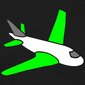 airplanes jet sky freedom aircraft flying glider T-shirts - Herre-T-shirt