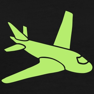 airplanes jet sky freedom aircraft flying glider T-shirts - Premium-T-shirt herr