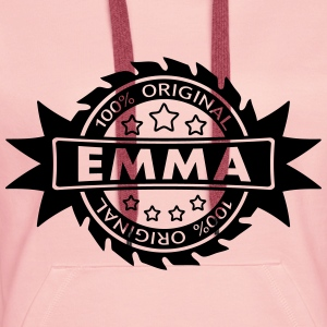 EMMA star original 1c Sweat-shirts - Sweat-shirt à capuche Premium pour femmes