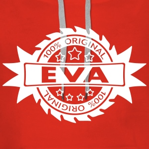 EVA star original 1c Sweat-shirts - Sweat-shirt à capuche Premium pour femmes