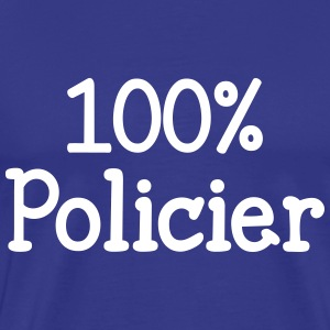 100% Policier Tee shirts - T-shirt Premium Homme