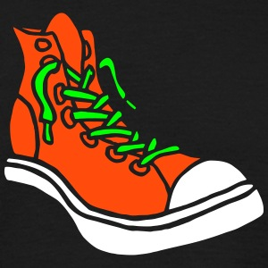 Street Sneaker Basketball Shoes Boots Alternative T-shirts - Herre-T-shirt