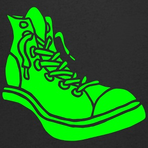 Street Sneaker Basketball Shoes Boots Alternative T-shirts - Herre T-shirt med V-udskæring