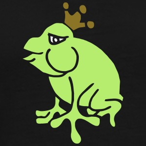 Crown Jewels Frogs Princess Queen Kisses Love King T-shirts - Herre premium T-shirt