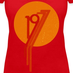 1977_x T-Shirts - Women's V-Neck T-Shirt