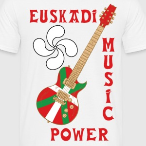 basque music 01 Tee shirts - T-shirt Homme